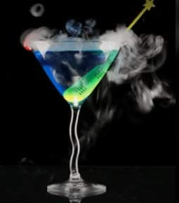 DRY ICE STIR STICKS WHITE DRY ICE NOT INCLUDED -
