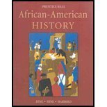 African-American History, Hine, Darlene Clark and Hine, William C., 0131947257