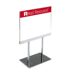 Retail Sign Holder Chrome Inserts product image