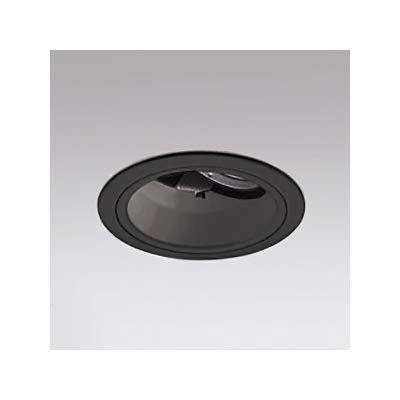 LEDユニバーサルダウンライト M形 深型φ100 JR12V-50W形 高効率形 ミディアム配光 連続調光 ブラック 白色 B07RZNGZZR