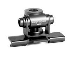 Diamond K400-3/8C Trunk/Hatchback Mount With 2-Axis Adjustment, 3/8x24 Base and 6 Foot Coax