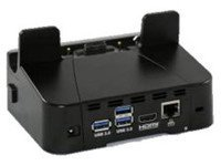 Zebra Enterprise CRD-ET5X-1SCOM1R Single Slot charger Dock with Rugged IO Adapter, HDMI, Ethernet, 3Xusb 3.0 for ET50/55 Tablet Computer, Requires Power Supply and US AC Line Cord