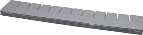 Quantum Storage - 16.5'' Wide x 3.5'' High Gray Bin Divider for Use with DG92035-6/Case (3 Cases)