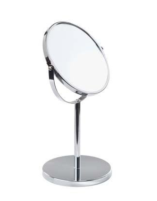 stand up vanity mirror. Chrome Vanity Stand Up Mirror by Kennedy Home Collections Amazon com