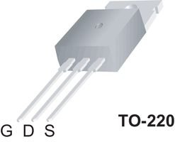 Fairchild Semiconductor Fqp47p06 P Channel Mosfet, -60v, 47a, To-220