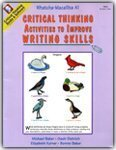 Critical Thinking Activities to Improve Writing Skills, Gaeir Dietrich and Elizabeth Korver, 0894553887