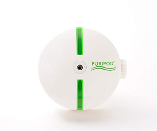 🥇 Direct TV Outlet Puripod Visto en TV Purificador e Ionizador Silencioso Aire Limpio y Fresco Limpiador de Aire para el Hogar con Filtro contra Alergia