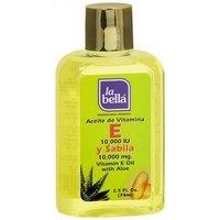La Bella Vitamin E Oil with Aloe, 2.5 Ounce