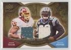 Julius Peppers; Jason Taylor #/99 (Football Card) 2009 Upper Deck Icons - NFL Reflections - Jerseys [Memorabilia] -