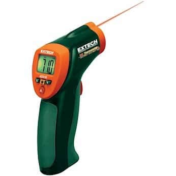 Cole Thermometer - Extech 42510A Compact Infrared Thermometer (12: 1)