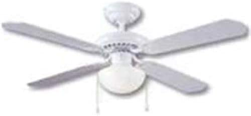 BOSTON HARBOR CF-78133 463117 Ceiling Fan Light Kit, 1 CFL, 13 W Lamp, 16 in H X 42 in W, White