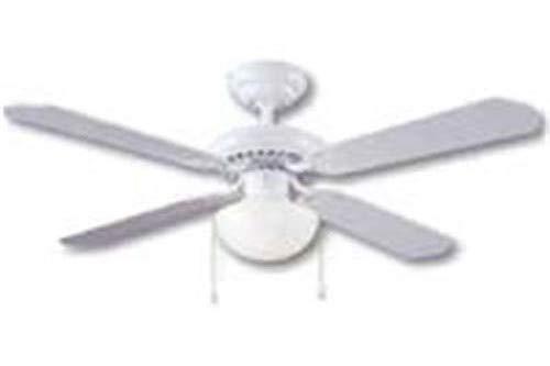 BOSTON HARBOR CF-78133 463117 Ceiling Fan Light Kit, 1 CFL, 13 W Lamp, 16 in H X 42 in W , White