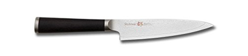 Ken Onion Knife Carving (Miyako Japanese 33 Layers Damascus Steel Utillity Knife, 5 -In / 13-Cm With Wooden Handle)
