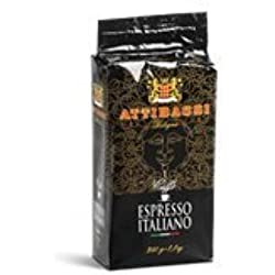 Attibassi Espresso Italiano Ground Brick 250 gram 2 pack
