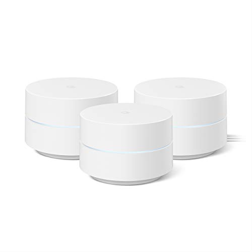 🥇 Google Wifi – Mesh Wifi System – Wifi Router Replacement – 3 Pack
