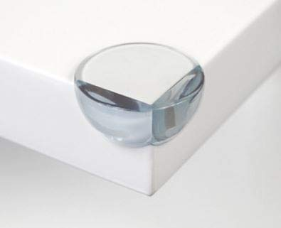 Baby Proof Clear Corner Guards  Protectors for Furniture with Sharp Corners (12 Pack)