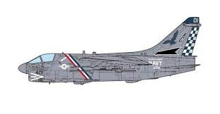 JC Wings US Navy A-7E Corsair II VA-72 Blue Hawks 1:72 Scale Part#JCW-72-A7-001