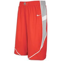 (NIKE New Mexico Lobos Dri-Fit Woven Twill Player Shorts (Small))