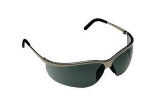 3M Metaliks Sport Safety Glasses With Metal Brushed Nickel F