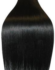 Straight Remy Human Hair Clip in Hair Extension 26 Inches(65cm) 100g 10pcs/set, Color #1j Jet Black