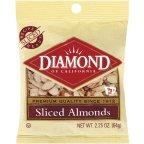 Diamond Almonds 2.25 OZ (Pack of 24)