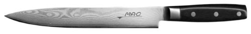 Mac Knife Damascus Slicing Knife, 9-1/2-Inch by Mac Knife