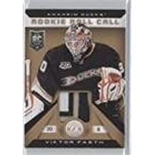Viktor Fasth #20/25 (Hockey Card) 2013-14 Totally Certified - Rookie Roll Call - Gold Patch #RR-VF