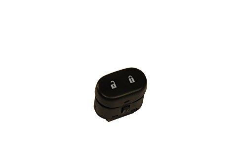 ACDelco 15823977 GM Original Equipment Black Door Lock Switch with Blue Backlight