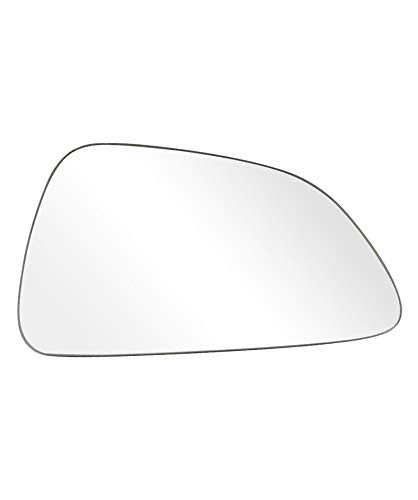 Landrol Compatible fits for 2013-2017 Buick Cascada Passenger Side Non-heated Exterior Replacement - Bathroom Mirrors Round Heated
