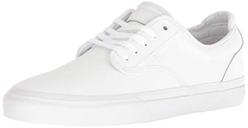 Baker Skate - Emerica Men's Wino G6 X Baker Skate Shoe, White, 7.5 Medium US