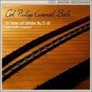 C.P.E Bach: Fur Kenner und Liebhaber / For Connoisseurs & Amateurs Wq. 55-60