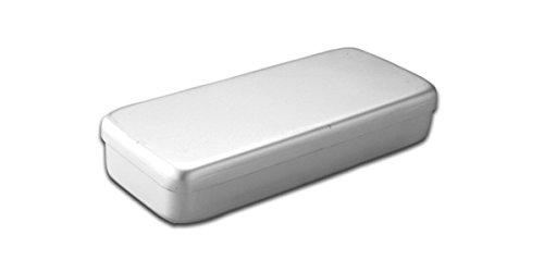 dutscher 910179 - Caja metálica (250 x 100 x 40 mm, acero ...