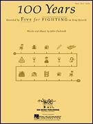 Hal Leonard 100 Years, by Five for Fighting, Piano, Vocal & Guitar (Sheet Music) -