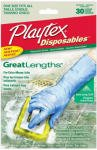 Health & Personal Care : Playtex Gloves Disposables GreatLengths Gloves: 30 Count