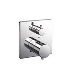★[TBV02404J]TOTO 浴室用水栓金具 壁付サーモスタット混合水栓(埋込式) サーモ切替2way止水付き 機能部のみ B075M5MZF8