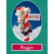 (Whitehurst Zim's The Elves Themselves Reggie the Elf with North Pole Christmas Figurine New)