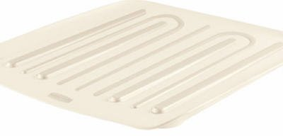 Rubbermaid Drain Board, Small, Bisque (Dish Small Antimicrobial Rubbermaid)