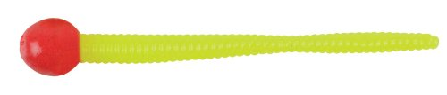 Berkley MMT3-FRC Power Bait Micro Floating Mice Tails Bait, Fluorescent Red/Chartreuse, 3-Inch (Mouse Tails Power Bait)
