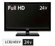 Unitech 24V型 液晶 テレビ LCB2403V フルハイビジョン B0065R6OT8