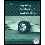 Acquiring, Developing and Implementing Guide, Sutton, Steve G. and Gelinas, Ulric J., Jr., 0324221061
