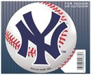 New York Yankees Official MLB 4.5 inch x 6 inch Car Magnet by Wincraft 153470