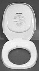 Thetford RV Toilet Aqua Magic IV Seat/Lid (Ivory)