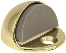 ANVIL MARK 807412 Dome Door Bumper, Polished Brass, 5/32''