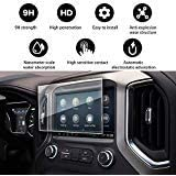 YEE PIN Screen Protector for 2019 GMC Sierra 1500 Intelli Link 8 Inch Center Control Touch Screen, Car Navigation Display Gla