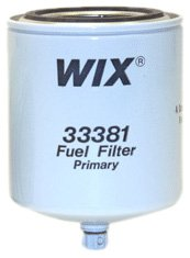 WIX Filters - 33381 Heavy Duty Spin-On Fuel Filter, Pack of 1