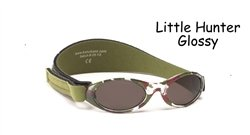 Baby BanZ Adventure BanZ Ages 0-2 Little Hunter Glossy Protective Sunglasses - Hunter Sunglasses