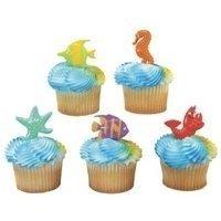 DecoPac Sealife Friends Cupcake Picks (24-Pack)]()