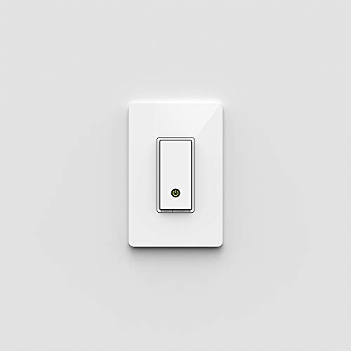 WeMo Light Switch, Wi-Fi Enabled, Compatible with Amazon Echo F7C030fc