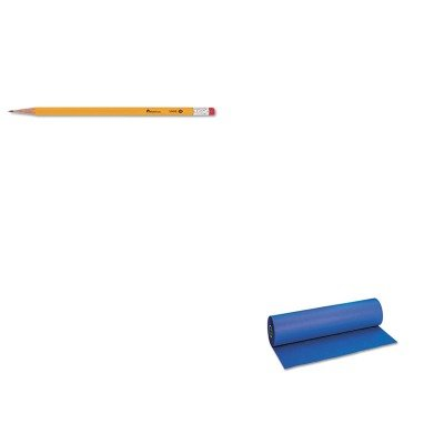 KITPAC101206UNV55400 - Value Kit - Pacon Decorol Flame Retardant Art Rolls (PAC101206) and Universal Economy Woodcase Pencil (UNV55400) by Pacon