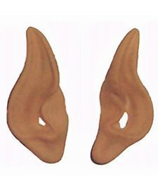 [Latex Alien Elf Fairy Goblin Ears Cosplay LARP Unisex] (Elf Ears Halloween)
